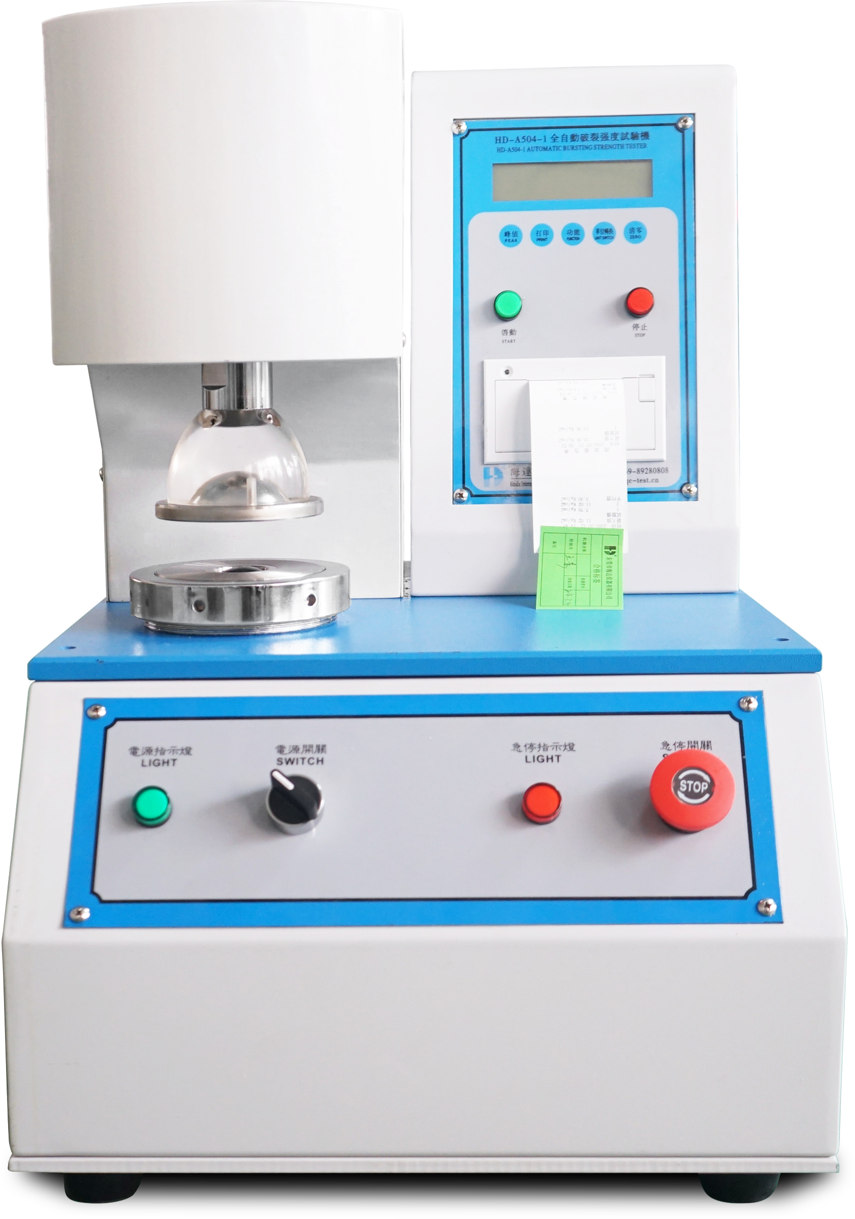 Automatic Film Bursting Testing equipment(LCD)
